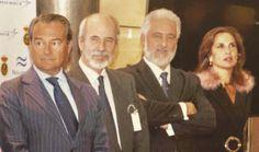 Secretario de Estado de Defensa, Agustín Conde, Marqués de Oquendo, Luis Narváez Rojas, Presidente de Navantia, Clara Zamora Meca (comisaria de la exposición). Museo Naval, Madrid.