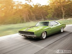 1968 Dodge Charger Rolling Shot
