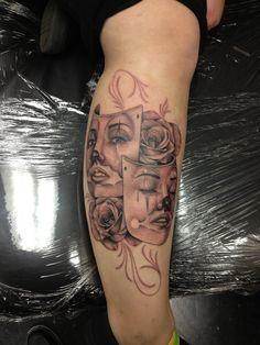 467e8433b Laugh Now Cry Later Tattoo Awesome Tattoo Tattoo Carl Tattoo ... State  Tattoos,