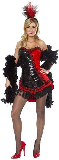 Sexy Showgirl Costume - Sexy Halloween Costumes