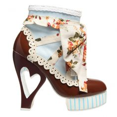 Irregular Choice shoes. We used to carry this brand at work, but no longer. Such a shame!