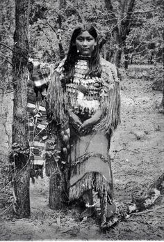 Havta, Kiowa lady. Beautiful