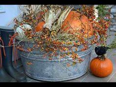 Fall galvanized tub