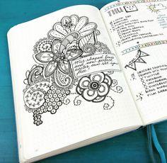 Bullet Journal Ideas from Kara