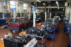 Centro Servizi Formativi di Trieste - Laboratorio corso Manutentore auto e moto