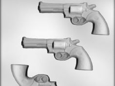 Scoop-N-Save - Police Gun Chocolate Mold, $3.50 (http://scoop-n-save.com/police-gun-chocolate-mold/)