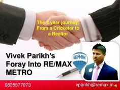 vivek-parikh-lifes-journey by remaxmetro1 via Slideshare