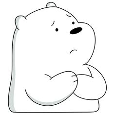 We Bare Bears Wallpapers, Panda Wallpapers, Cute Cartoon Wallpapers, Ice Bear We Bare Bears, We Bear, Cute Panda Wallpaper, Bear Wallpaper, Stickers Cool, Black And White Stickers
