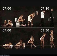 #Men vs #Women vs #Time