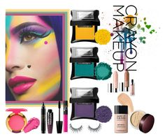 """Crayon Make-up: Light up your life"" by fashion-nova ❤ liked on Polyvore featuring beauty, Illamasqua, NARS Cosmetics, MAC Cosmetics, NYX, Charlotte Tilbury, Unicorn Lashes, MAKE UP FOR EVER, Laura Mercier and Clinique"