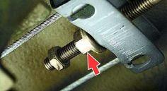 ВАЗ 21099, 2109, ВАЗ 2115, 2114, 2113 натяжение или ослабление ручника   VAZ для вас!