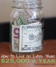 Living on Less than 25K per year - advice from those who have made it work #money #finance #frugalliving