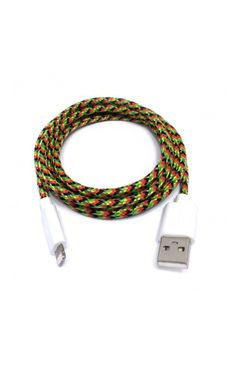 Charge Cords - Bob Lightning Cable for iPhone 5/5S/6 & iPad - Rainbow