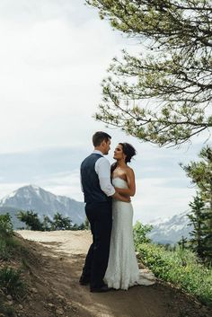 Rustic Mountain Wedding Inspiration | Photo by Geoff Duncan