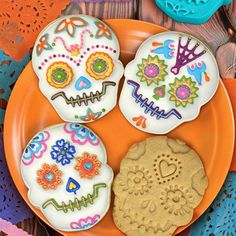 Sugar Skull Cookie C