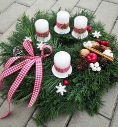 Advent Wreath Advent Wreath, Decoration, Christmas Wreaths, Holiday Decor, Ideas For Christmas, Decor, Decorations, Decorating, Dekoration