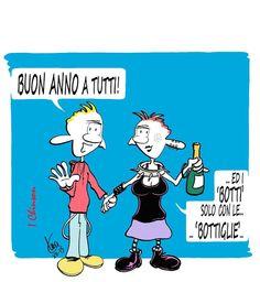 MARIO AIRAGHI: Buon anno!.. senza esagerare...