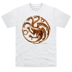 Daenerys Targaryen's house represented in a metallic sigil. This is an officially licensed Game of Thrones product.