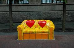 Ceramic Love Sofa