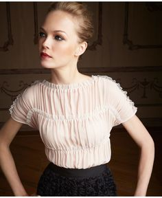 Giambattista Valli for Macy's blouse