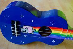 nyan cat ukulele