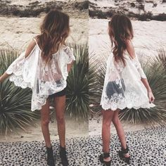 ✨HP SALE✨Gorgeous Lace swimsuit coverup✨ ✨Gorgeous swimsuit coverup✨Material: Cotton, Polyester, Spandex                                                                        ✨ Color: White ✨ Please read sizing information to determine your correct size ✨                                                       ✨Size Small .         Sleeve 17.32 Inches . Bust 45.67 Inches . Length 33.86 Inches ✨                                          ✨Size Medium.     Sleeve 17.32 Inches . Bust 47.24 Inches…