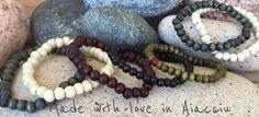 2 bracelets homme perles de bois , plusieurs coloris : Bijoux pour hommes par made-with-love-in-aiacciu