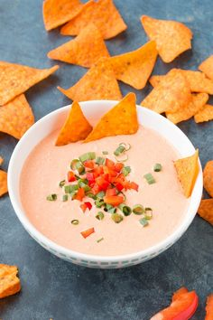A quick and easy Cajun dip recipe made with roasted red bell pepper, fresh garlic, creamy yogurt and sour cream, and a spicy seasoning blend, perfect for parties when you need big flavor fast. Red Chili Sauce Recipe, Hot Sauce Recipes, Cajun Recipes, Dip Recipes, Chili Recipes, Cajun Food, Vegan Recipes, Appetizer Dips, Appetizer Recipes