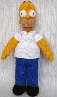 Homer Simpson http://veganormal.blogspot.com.es/2012/09/4-chiacchiere-intorno-al-crochet-3d_27.html