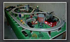 lionel train track table long - Google Search