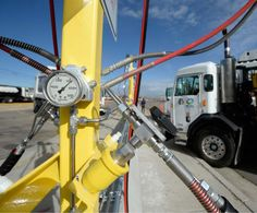 Salt Lake County shows off new natural gas fuel station | The Salt Lake Tribune
