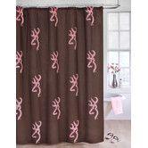 Found it at Wayfair - Browning Buckmark Shower Curtain