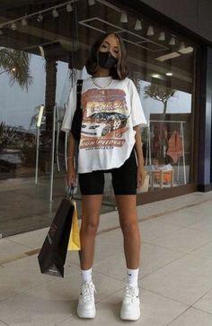 Teen Fashion Outfits, Mode Outfits, Retro Outfits, Vintage Outfits, Girl Outfits, Swaggy Outfits, Cute Casual Outfits, Stylish Outfits, Simple Outfits