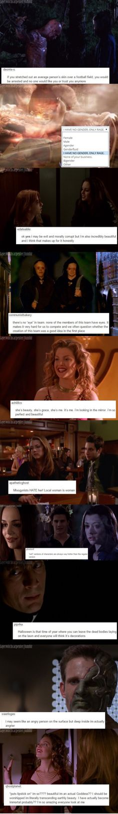 Go check out this blog if you like Buffy, it's great