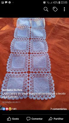 Crochet Lace Edging, Crochet Patterns, Dali, Diy And Crafts, Knitting, Home Decor, Lace Table Runners, Linen Tablecloth, Dining Table Runners