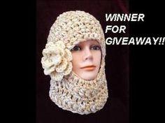 GIVEAWAY WINNERS!! SKI MASK CROCHET PATTERN Newborn Crochet Patterns, Easy Crochet Patterns, Crochet Designs, Scarf Patterns, Crochet Ideas, Stitch Patterns, Crochet Mask, Knit Crochet, Ski