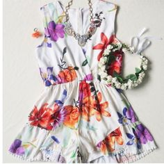 This playsuit reminds me of Hawaii