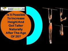 This video describes about how to increase height and get taller naturally after the age of 20. You can find more details about Long Looks capsule at http://www.ayushremedies.com