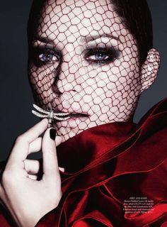 Marion Cotillard in Harper's Bazaar UK  <3