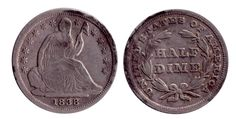 1838 Half Dime - Lexington