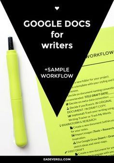 Have you tried writing in Google Docs? This post has a writing workflow that you can print out and follow.