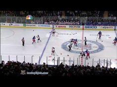 Devils Vs Rangers Hockey Fight