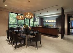 kitchen of hamilton singapore, check out the living room!