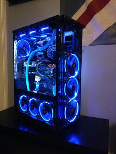 azzy5463's Completed Build - Core i5-4670K 3.4GHz Quad-Core, Radeon R9 270X 2GB Tri-X Toxic, Core X71 ATX Full Tower - PCPartPicker