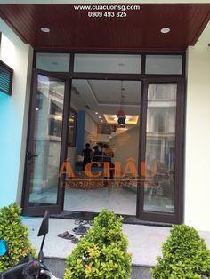 Công trình hoàn thiện cửa nhôm Xingfa tại quận 3