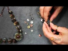 ▶ Faux Riveting with Bead Bars - YouTube