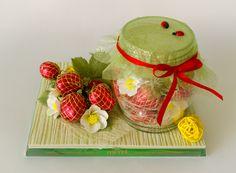 Необычные подарки из конфет