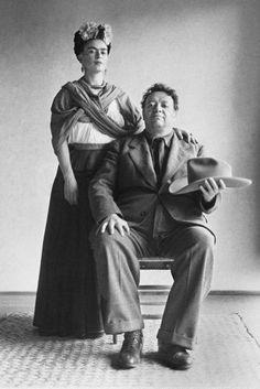 frida kahlo and diego #TheCrazyCities #crazyArt