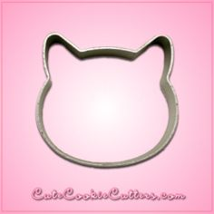 View Small Cat Head Cookie Cutter in detail