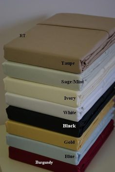 California King Solid 600 Thread count 100% Egyptian cotton Sheet sets $89.99 www.scotts-sales.com